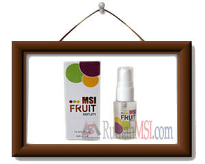 fruit serum msi