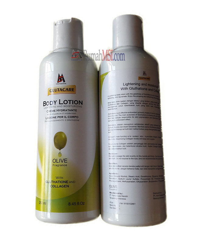 glutacare body lotion clean
